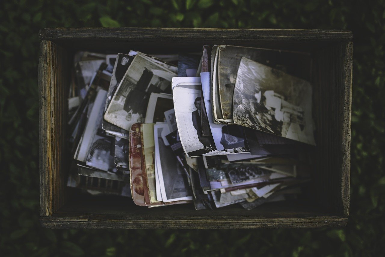 Digitize Your Photos when downsizing your home.