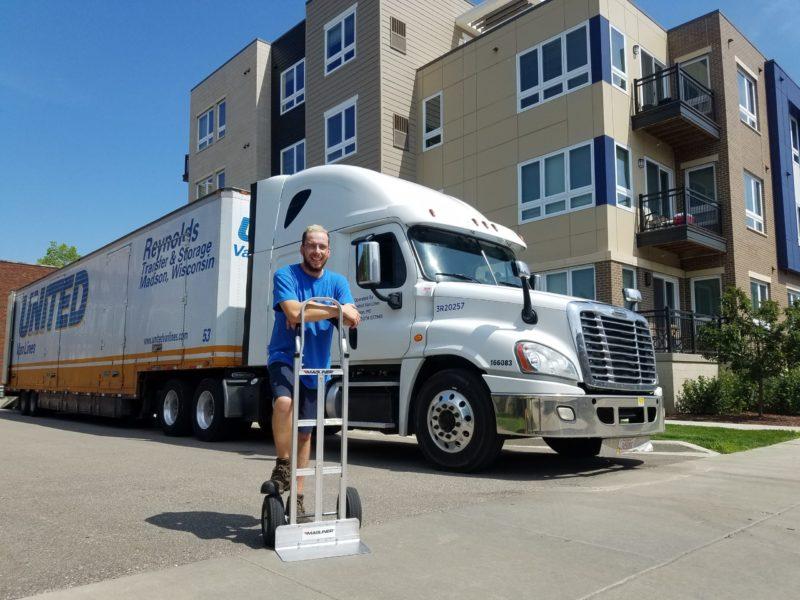 Furniture donation pick-up by Reynolds Transfer & Storage