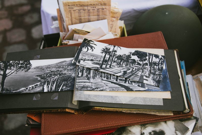 Photographs should be stored in climate controlled storage.
