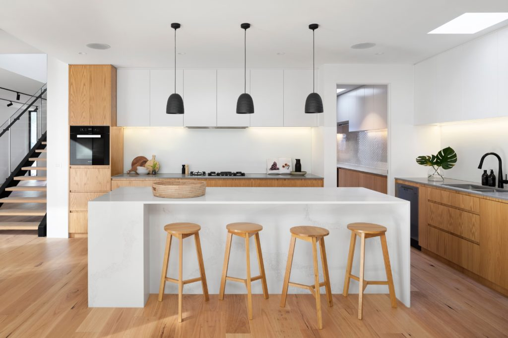 Home staging the kitchen.